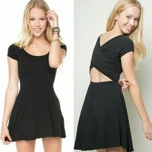 Brandy Melville Bethan Dress in Black